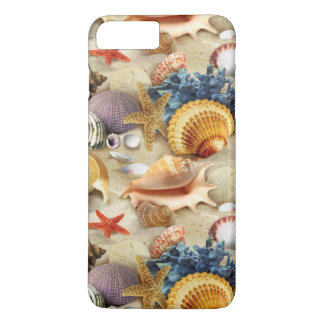 Beach Seashells iPhone 7 Plus Case