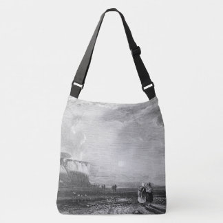 Beach Seashore Cornwall England Shoulder Tote Bag