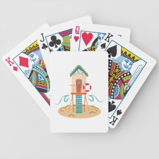 Beach Shack Bicycle Poker Cards