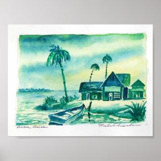 beach-shacks poster