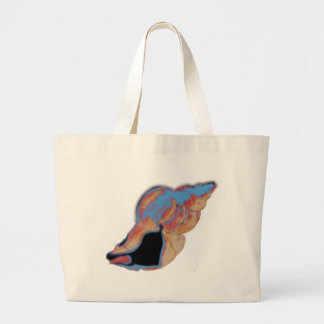 Beach Shell Large Tote Bag