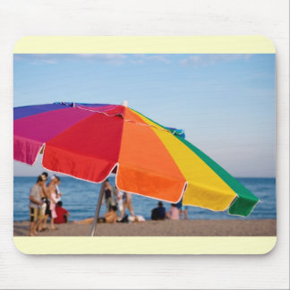 beach shelter mouse pad