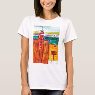 Beach Shower for Cats T-Shirt
