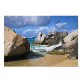 Beach side at Virgin Gorda, British Virgin Photo Art