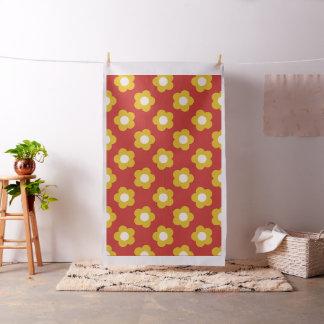 Beach-Side Flowers Fabric