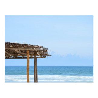 Beach Side in Africa Postcard