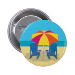 Beach Side Paradise Buttons
