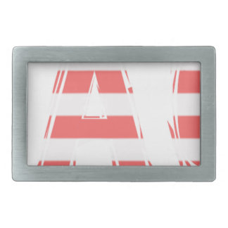 Beach Sign - stripes Belt Buckle
