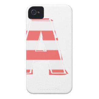 Beach Sign - stripes Case-Mate iPhone 4 Case