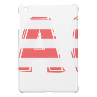 Beach Sign - stripes iPad Mini Cover