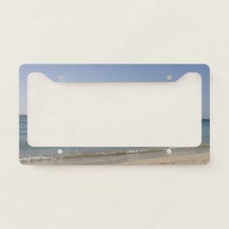 Beach Sky Sandy Licence Plate Frame