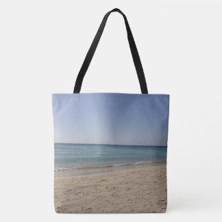 Beach Sky Sandy Tote Bag