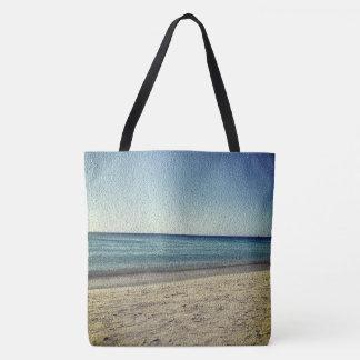 Beach Sky Sandy ver.2 Texture look Photo Tote Bag