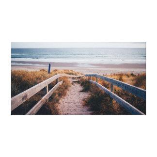 Beach | Sky | Sea | Ocean Canvas Print