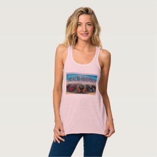 Beach Slingin Womens Tank Top