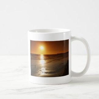 beach spain basic white mug