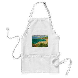 beach , standard apron