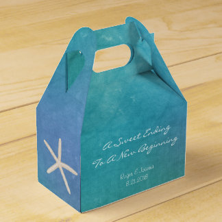 Beach Starfish Favor Box