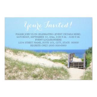 Beach Steps Invitations