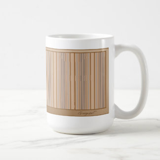 Beach Stripe Mug in Beige