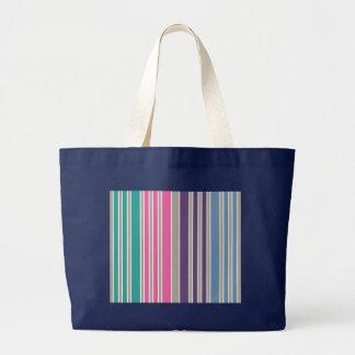 Beach Stripes Canvas Bags