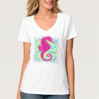 Beach style Seahorse t-shirt