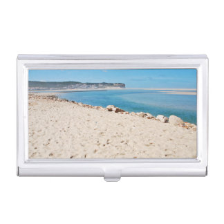 Beach Subject Business Card Holder