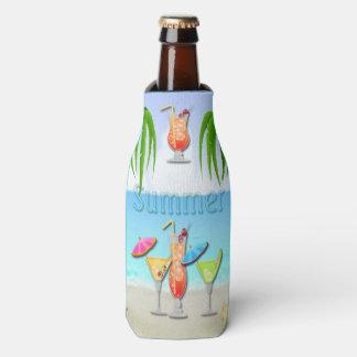 Beach Summer Cocktails Bottle Cooler