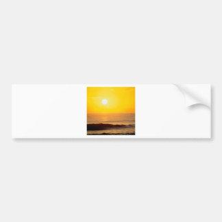 Beach Sun Kissed Waves Kauai Hawaii Bumper Stickers