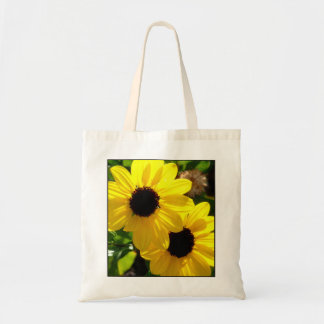 Beach Sunflowers Small Tote Bags
