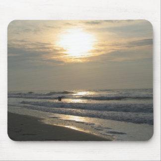 Beach Sunrise II Mouse Mats