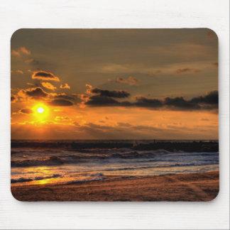 Beach Sunrise Mouse Pad