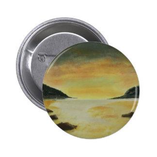 Beach Sunset 6 Cm Round Badge
