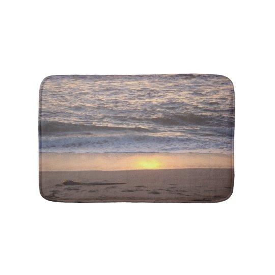 Beach Sunset Bath Mats