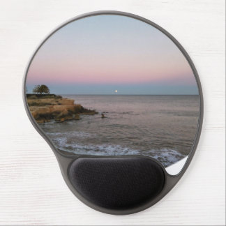 Beach Sunset Gel Mouse Pad by IreneDesign2011