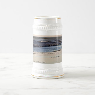 Beach Sunset Ormond Beach Beer Stein