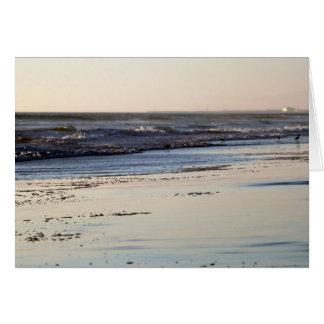 Beach Sunset Ormond Beach Card