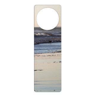Beach Sunset Ormond Beach Door Hanger