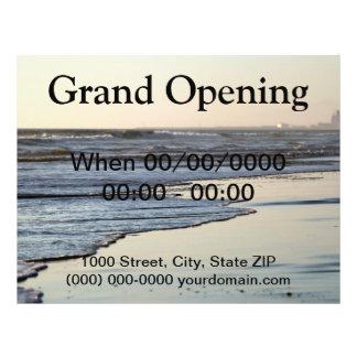 Beach Sunset Ormond Beach Flyer Design
