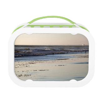 Beach Sunset Ormond Beach Lunch Box