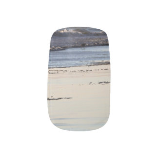 Beach Sunset Ormond Beach Minx Nail Art