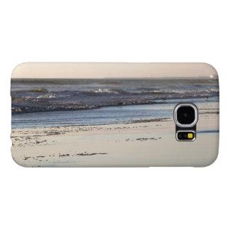 Beach Sunset Ormond Beach Samsung Galaxy S6 Cases