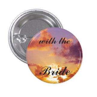 Beach Sunset Wedding Special Pinback Buttons