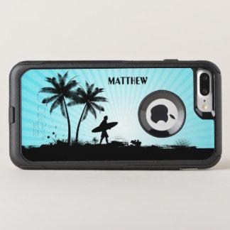 Beach Surfer custom name phone cases
