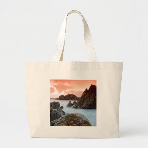 Beach Surreal Sundown South Africa Canvas Bag