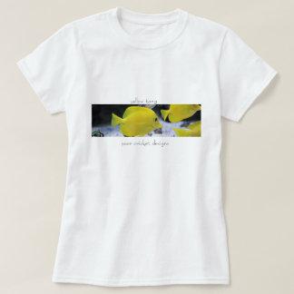 beach t-shirt for women fish design