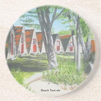Beach Tent-els - COTW Coaster