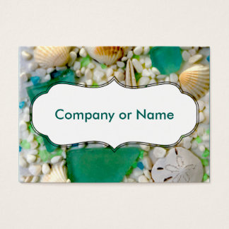 Beach Theme Business Card
