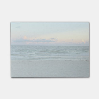 Beach Themed, A Beach With White Sands, Blue Water Post-it® Notes