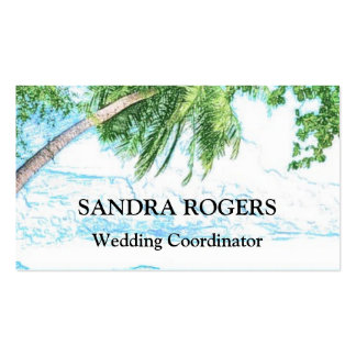 Beach Themed Bussiness Cards Pack Of Standard Business Cards
